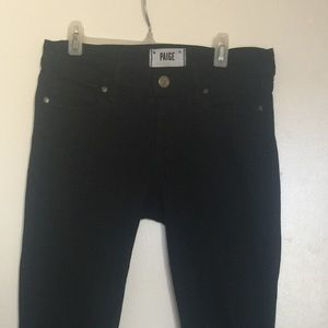 PAIGE Jeans - Paige Jeans with Ankle Zippers